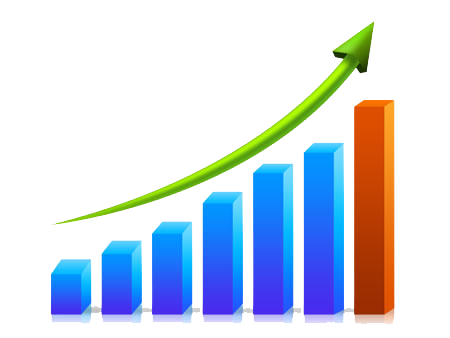 Business Growth Chart Png Transparent Images   3063