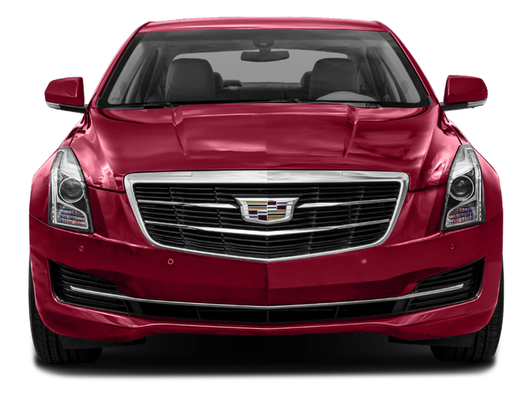 Cadillac Red Free Cut Out 22844