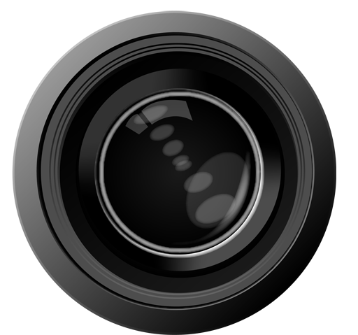 Icon Clipart Camera Lens 9655
