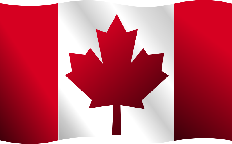Canadian Flag Clipart 4613
