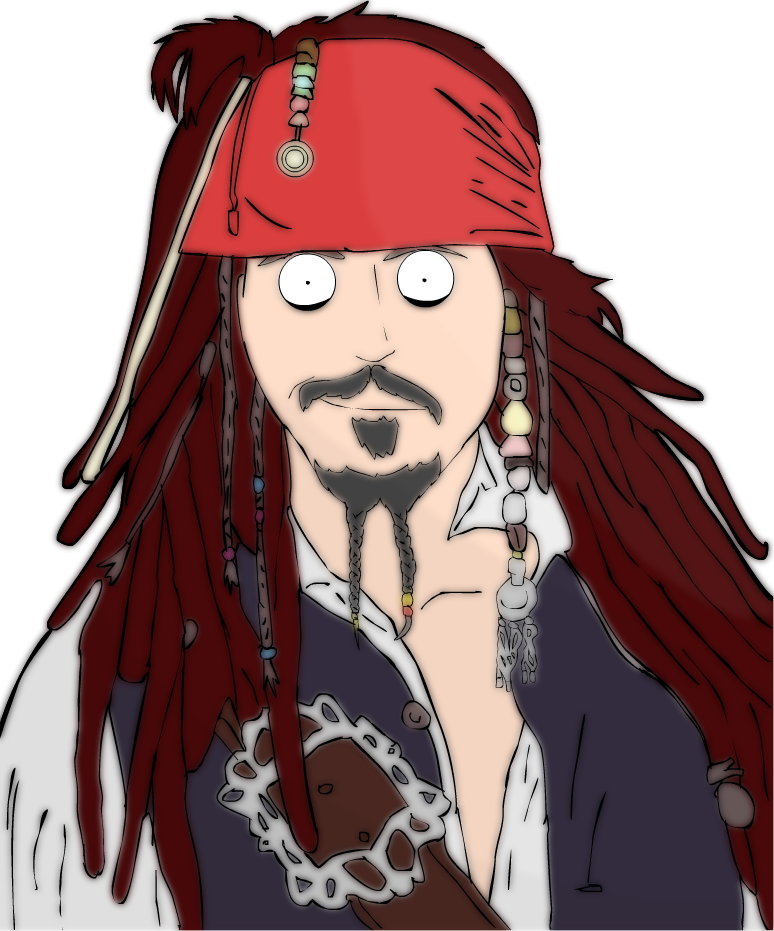 Captain Jack Sparrow Clipart Png Photo 636