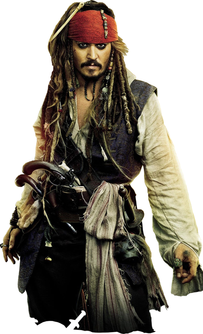 Captain Jack Sparrow Pirates Of The Caribbean Png 613
