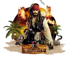 Cranked Spine Sig Captain Jack Sparrow Png 614