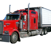Red Cargo Truck Transparent Images  4359