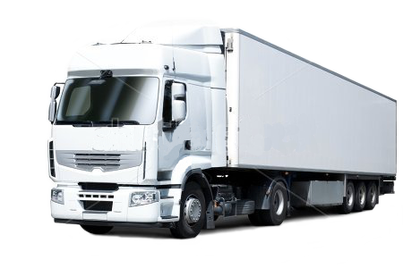 White Cargo Truck Transparent Images  4358
