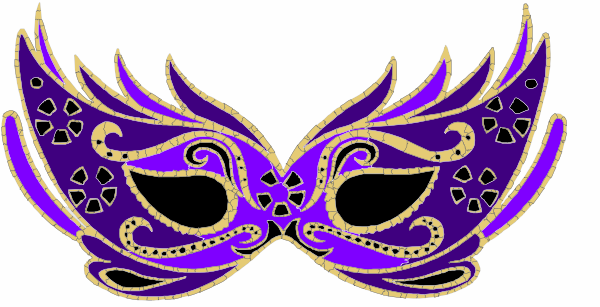 Purple Masquerade Mask Pictures 5609
