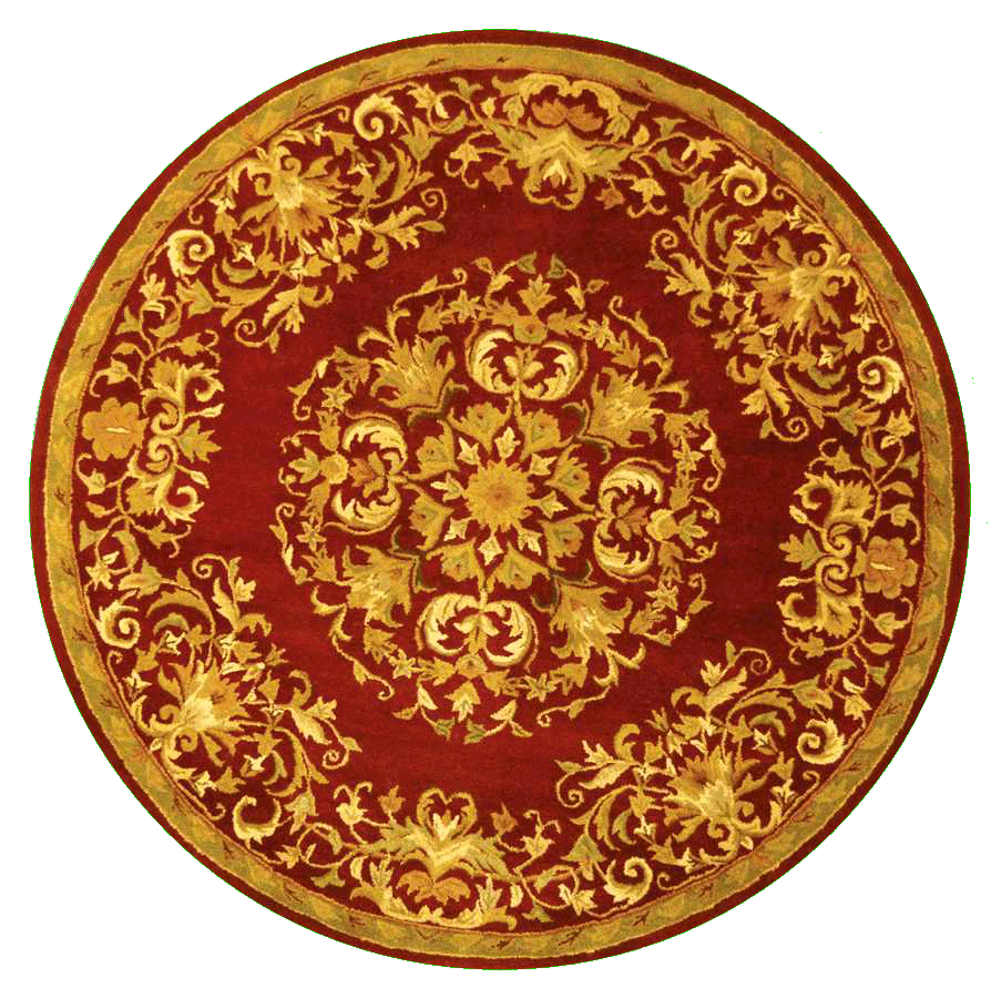 Round, Red, New, Gold, Carpet Png 2974
