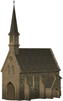 Church, Witch House, Villa, Britain, Building, Cathedral, Clipart Graphics 5759