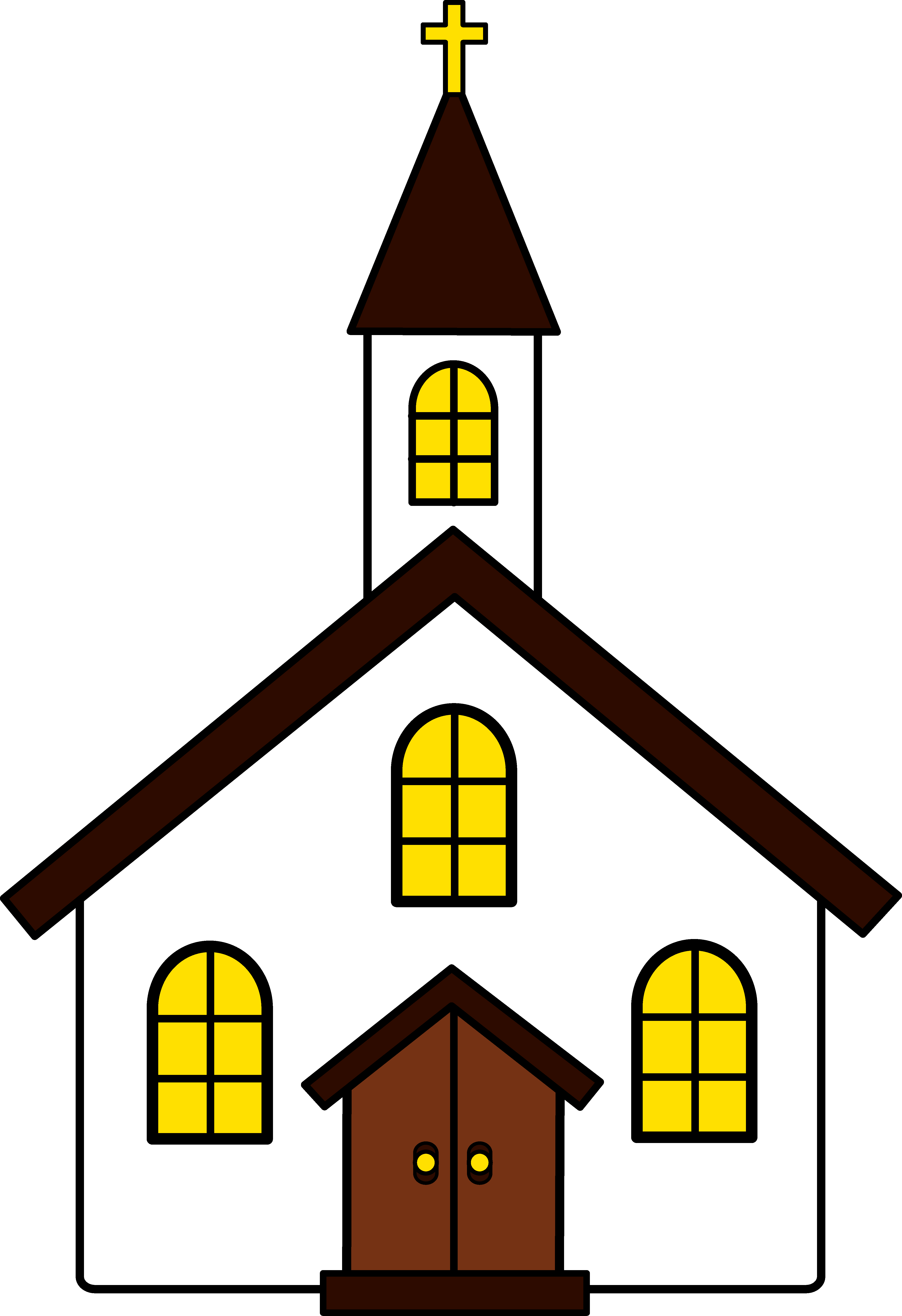 Little Church Building Pictures PNG Images