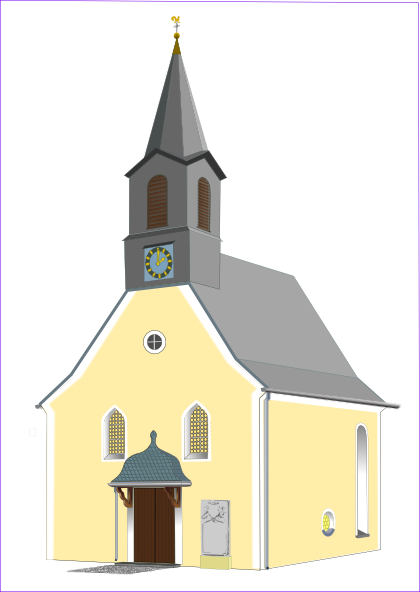 Village Church Clip Art At Pictures 5773