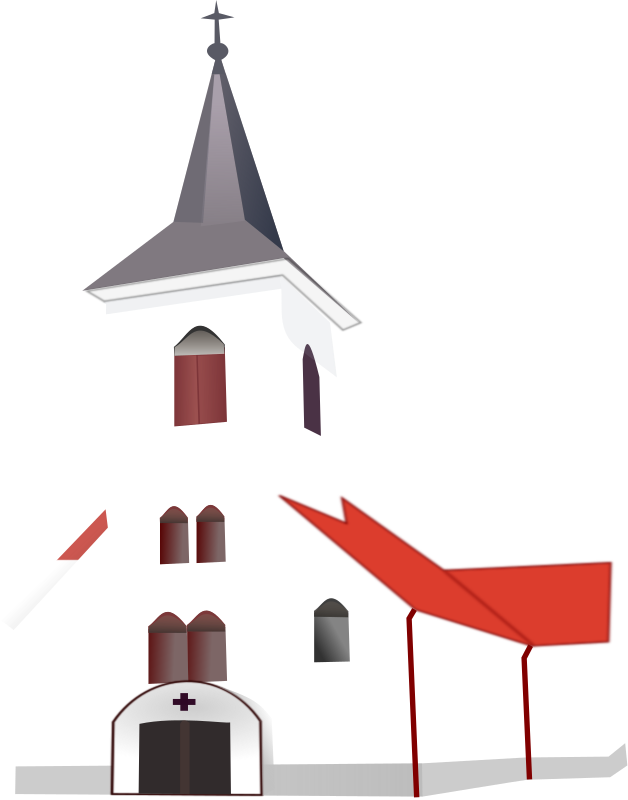 White Church Clipart Picture 5765