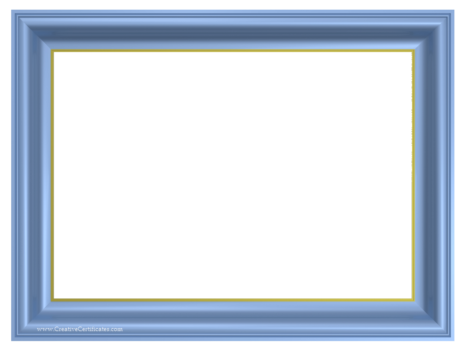 Blue Images Of Navy Blue Certificate Borders Png 4932