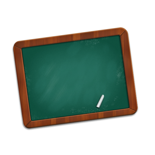 Chalkboard Icon Clipart 739