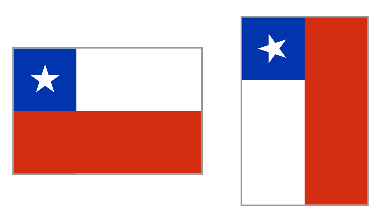 Chile Flag Clipart PNG Photos 19343