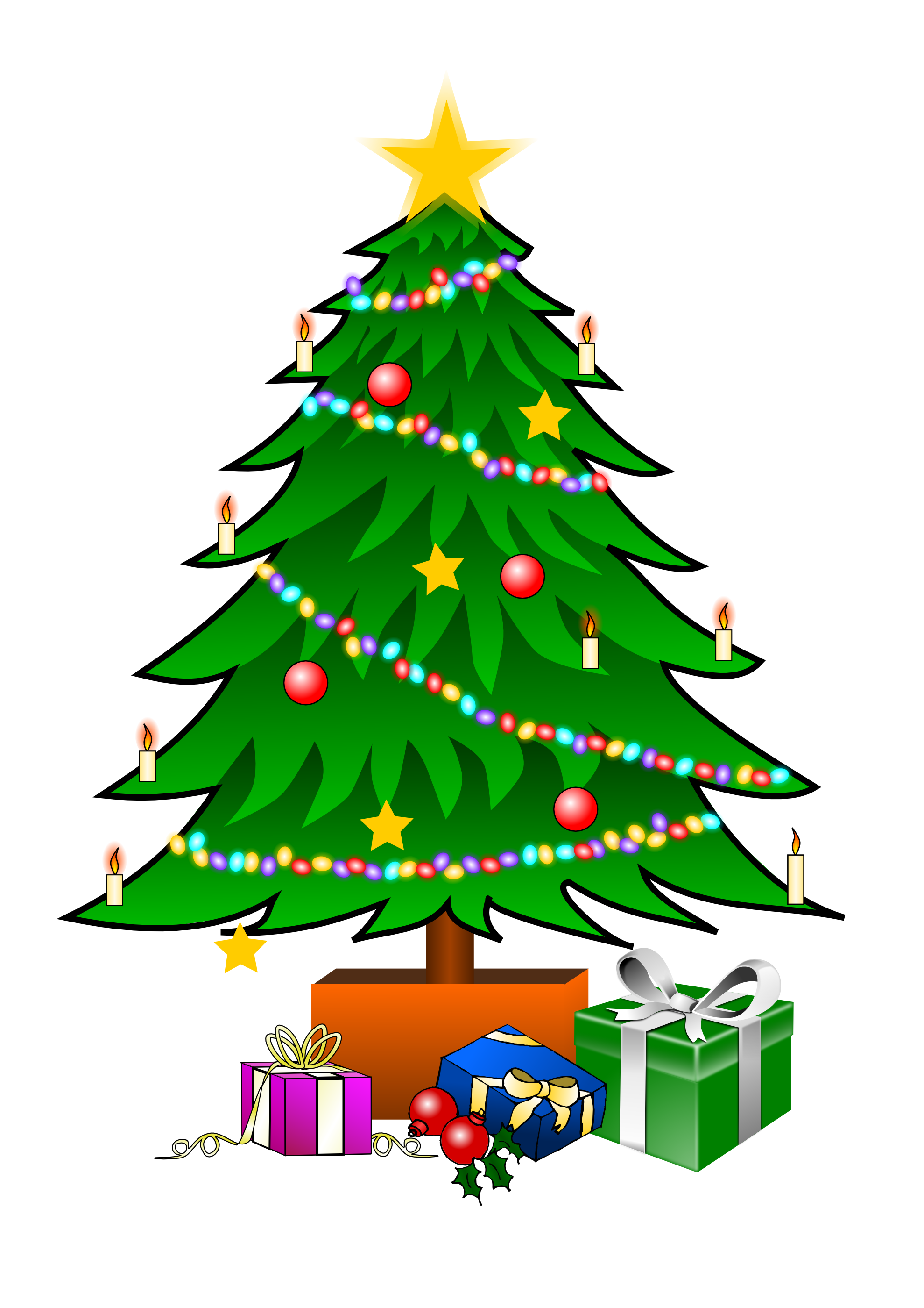 christmas tree free download transparent - Christmas Tree Images Free