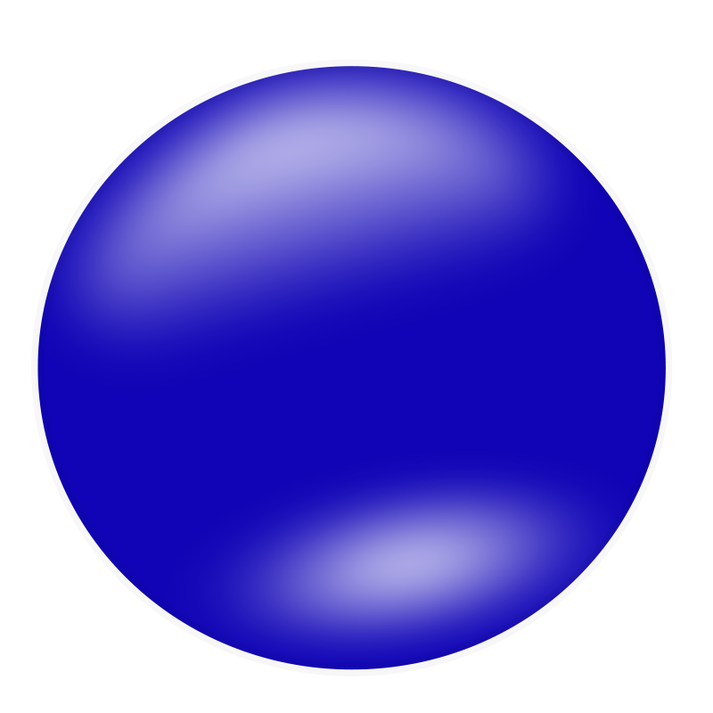 Blue Circle Clipart Transparent 15275