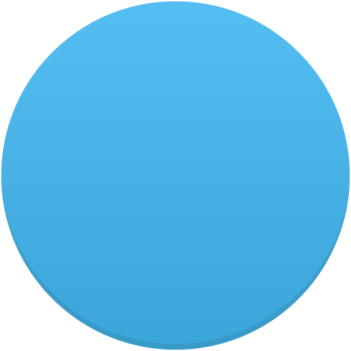 Circle Picture Blue 15284