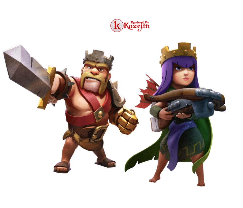 Clash Of Clans Cut Out 13959