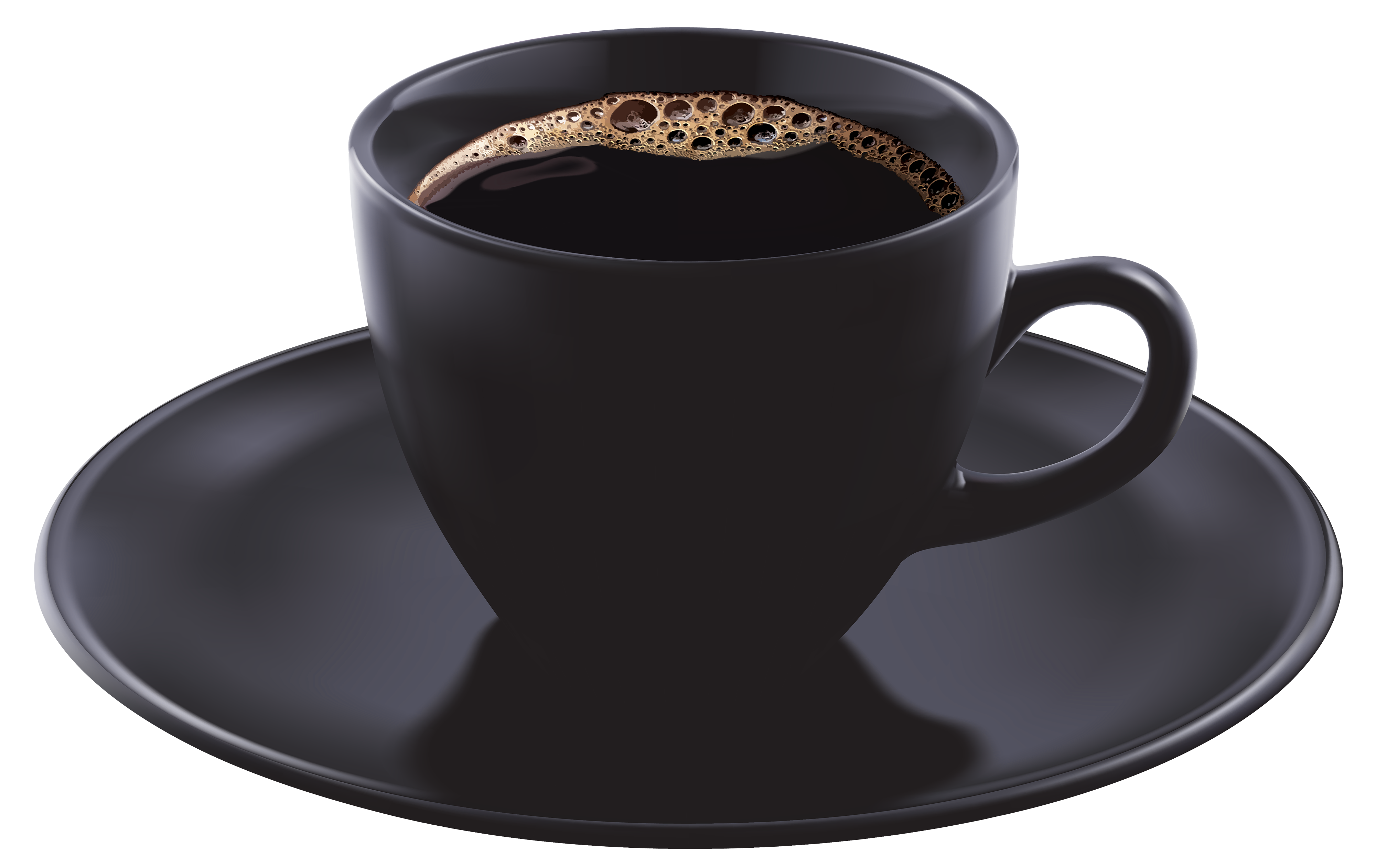 Black Coffee Cup HD Image