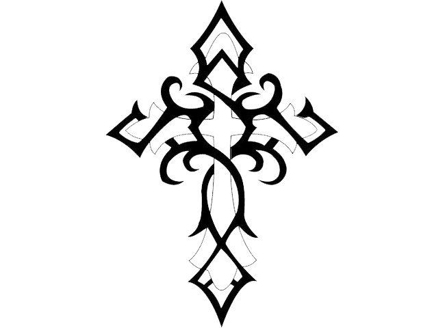 Cross Tattoos Image HD 8032