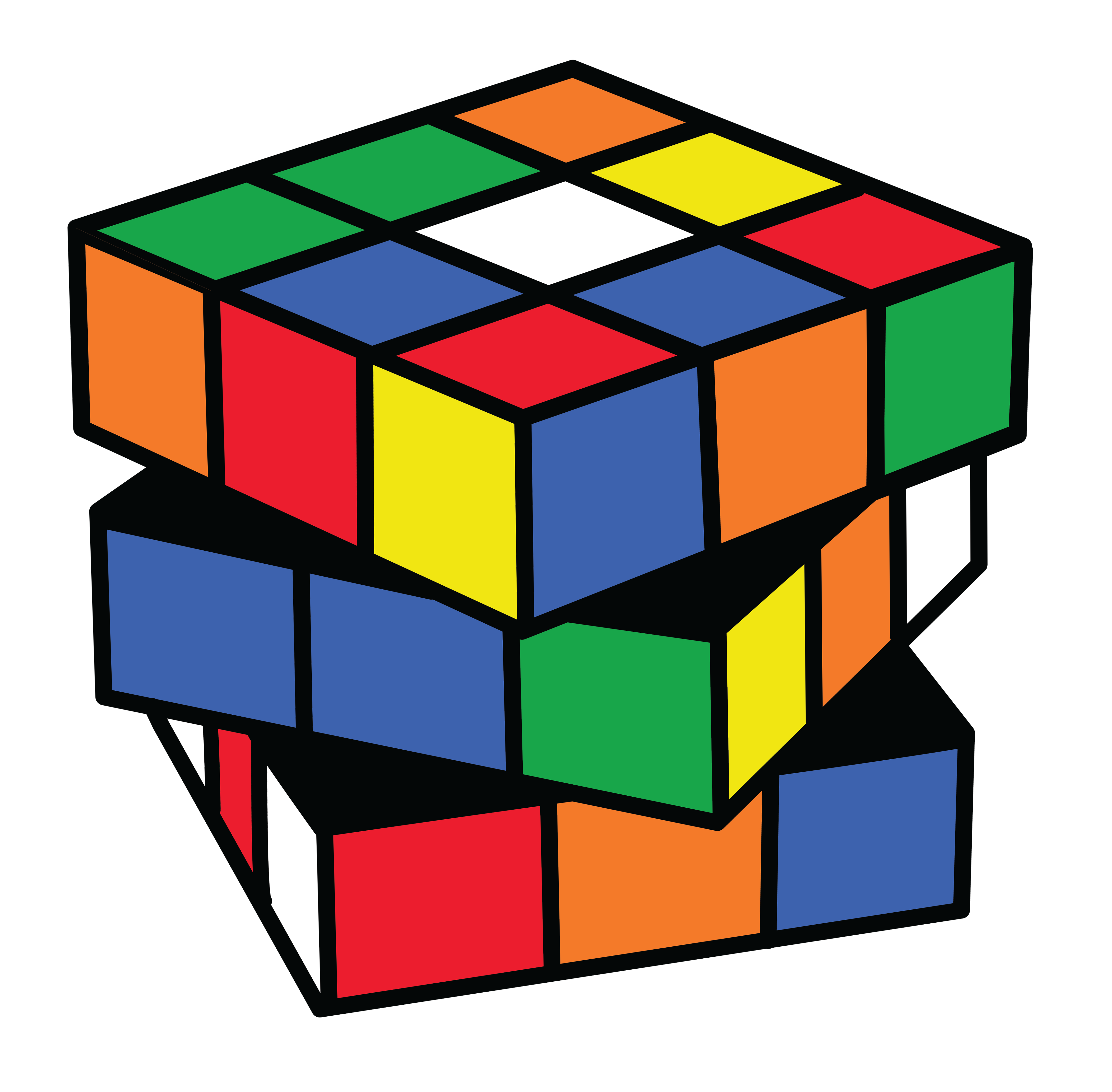 Rubiks Cube Clipart PNG File PNG Images
