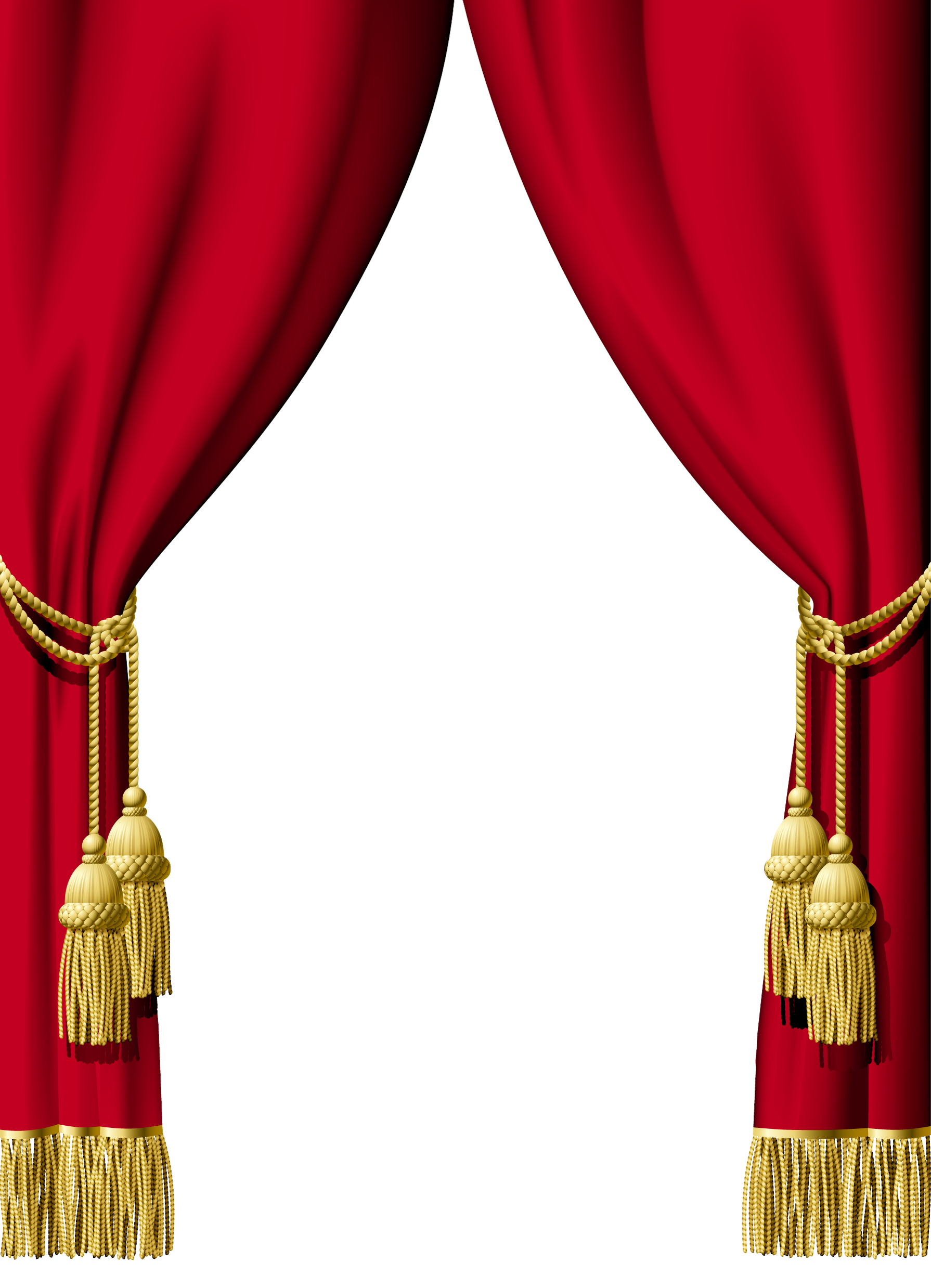 Red Curtain Png Transparent Images  350
