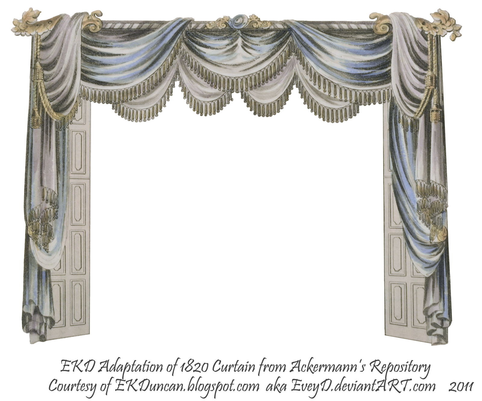 White Cinema Curtain Png Images 369