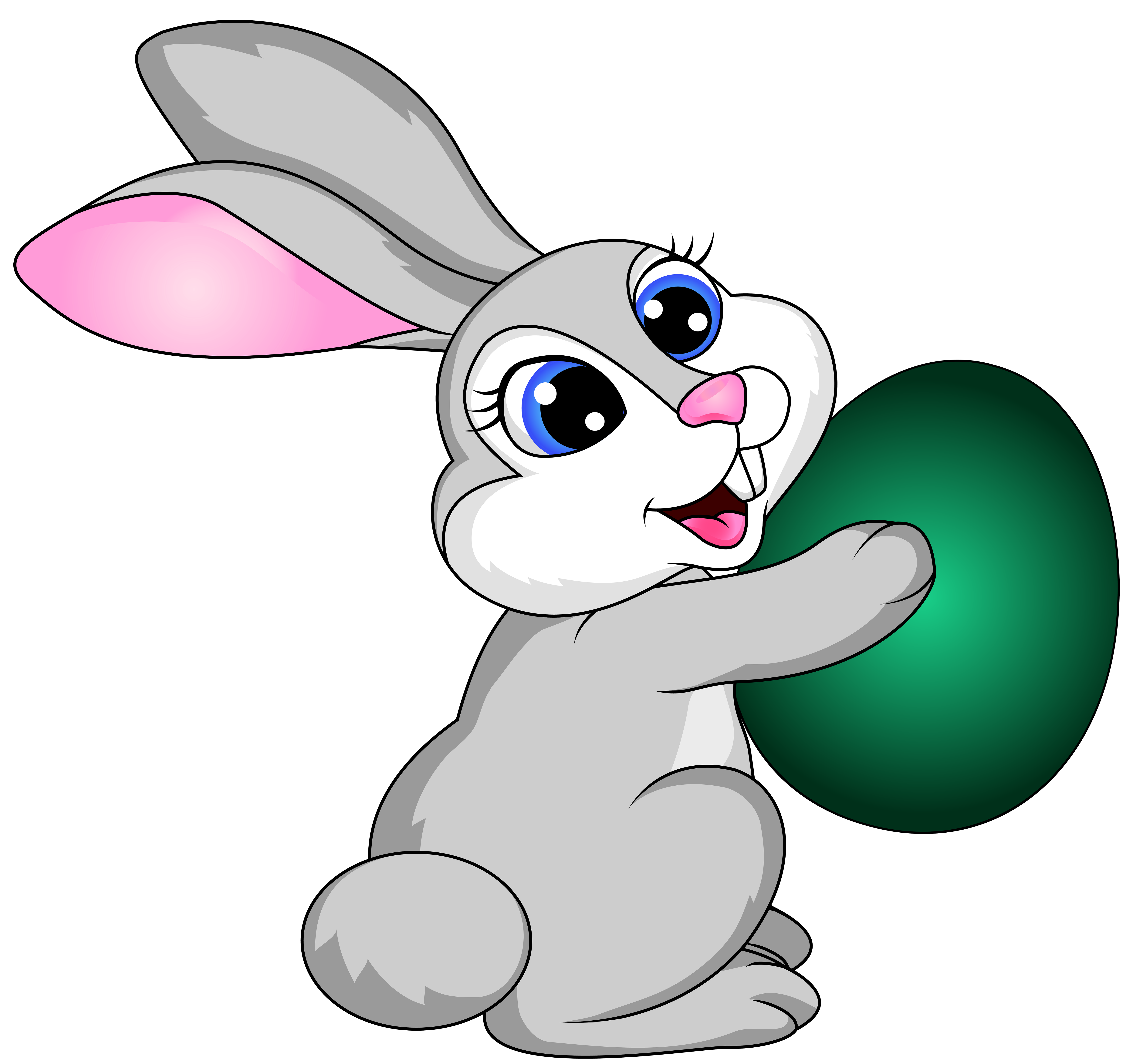 Easter Bunny Transparent Background PNG Images