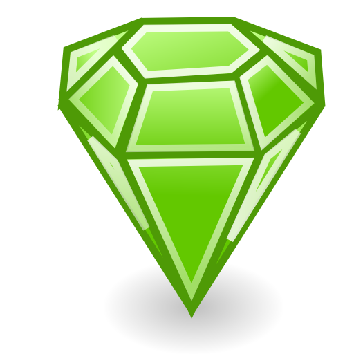 Emerald Stone Icon Png 2804