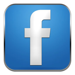 Facebook Simple Rounded Social Icons Png 6128