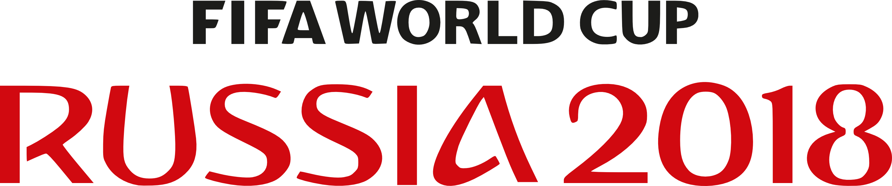 2018 Fifa World Cup Russia Logo PNG