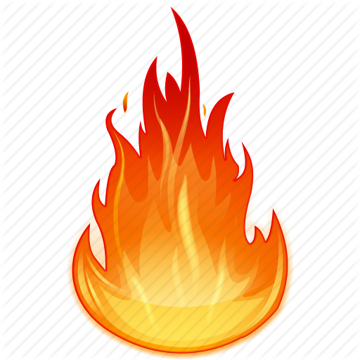 Fire Flames Icon Clipart 14 14489