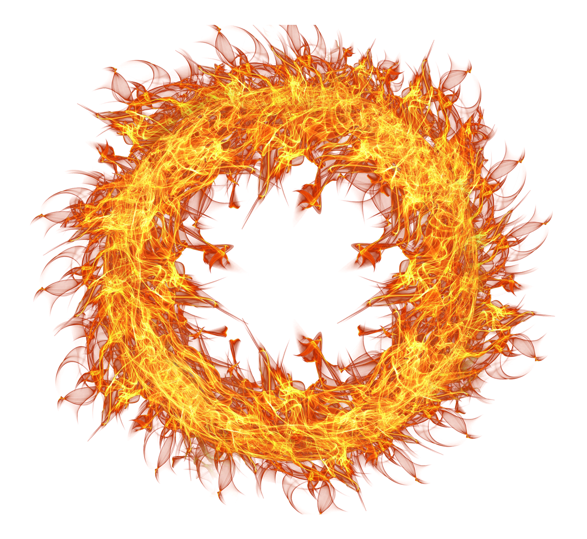 Fire Flame Circle Png By Hasso On Transparentpng 6797