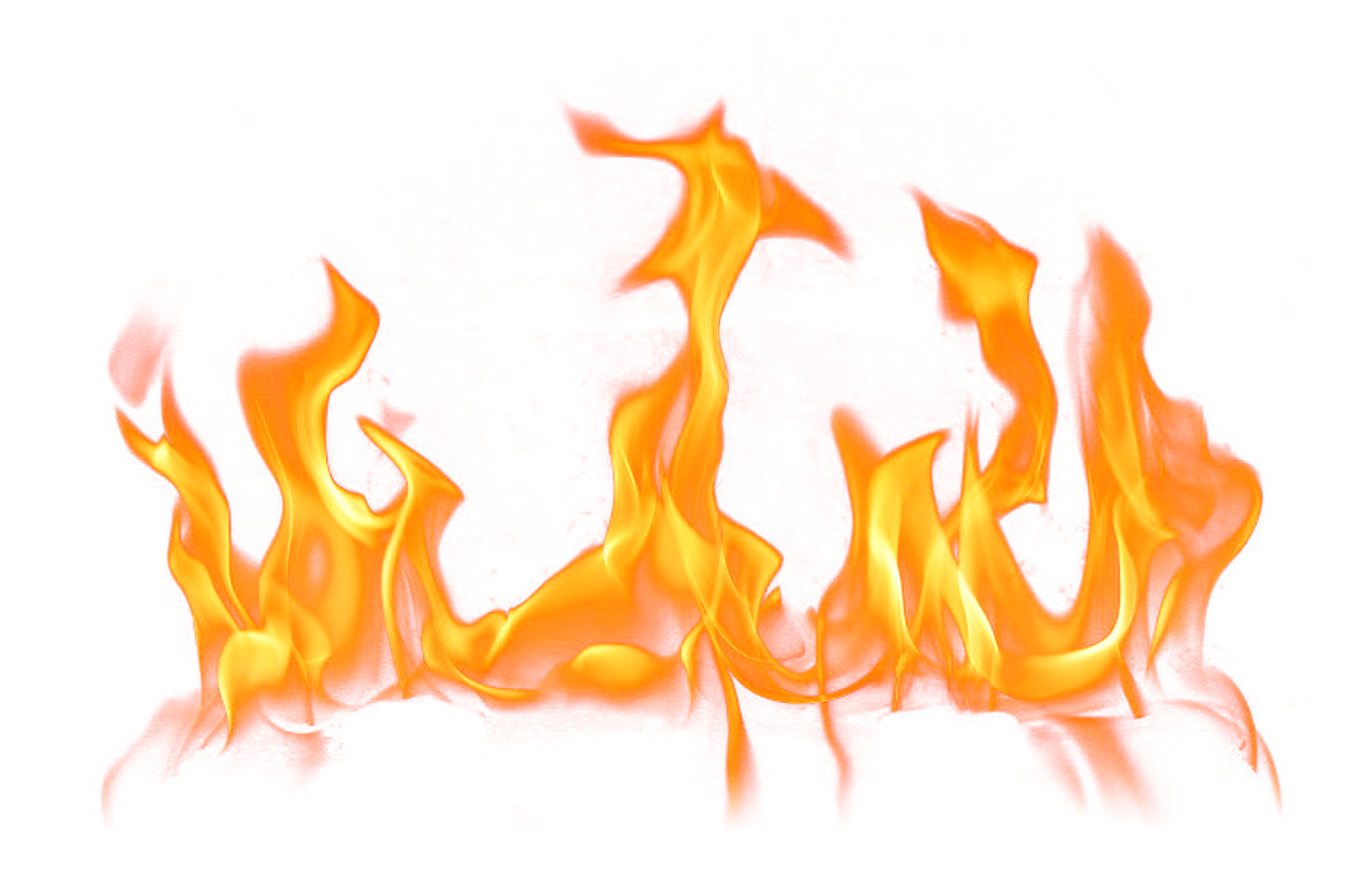 Transparent Fire Clipart Clipground 6793