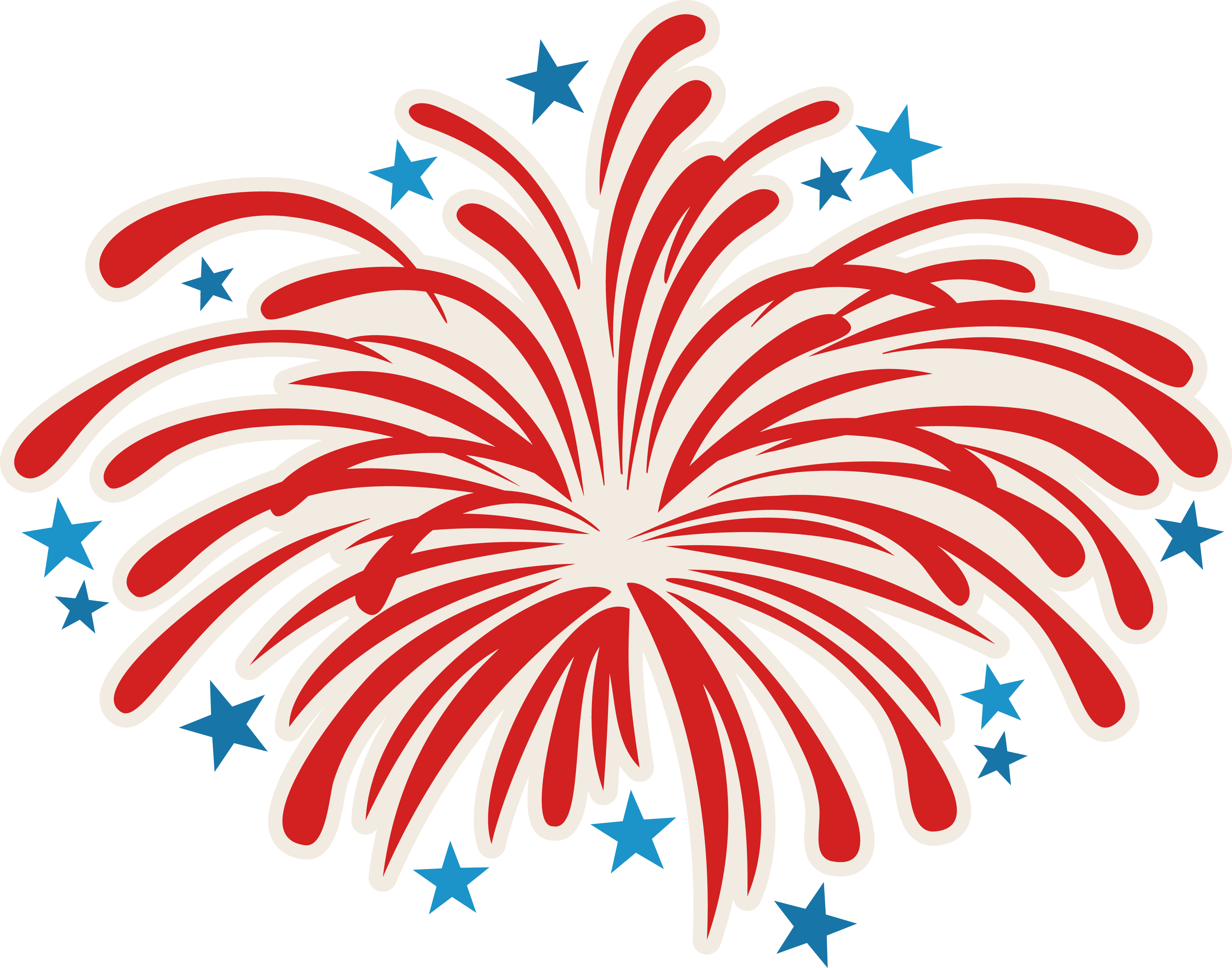 Red Fireworks Drawing PNG Image, Prices, Materials 27942
