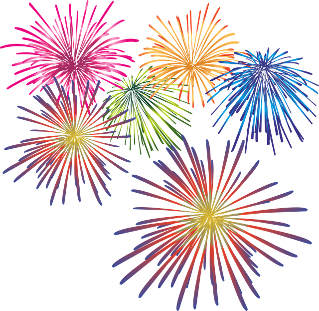 Live Drawing Fireworks HD Photos, Colorful Fireworks 27940