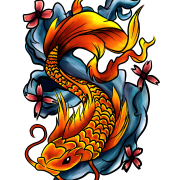 PNG Fish Tattoos Picture 6880
