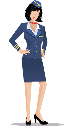 Air Hostess Dating Flight Attendant Png 1092
