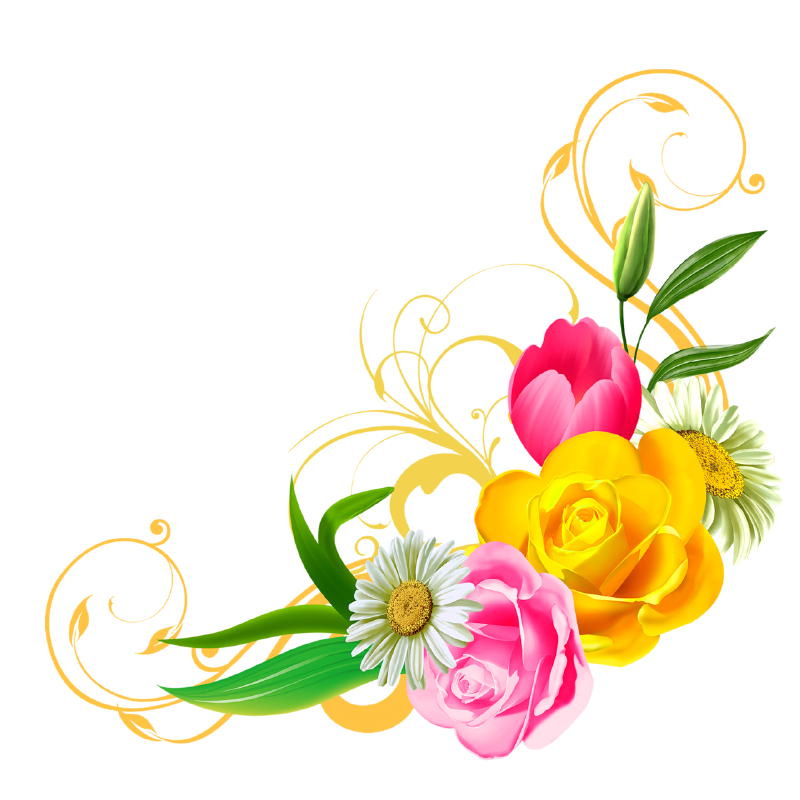 Cute Flower Clip Art 6504