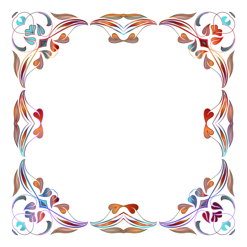 Floral Border Png Images Picture 5645
