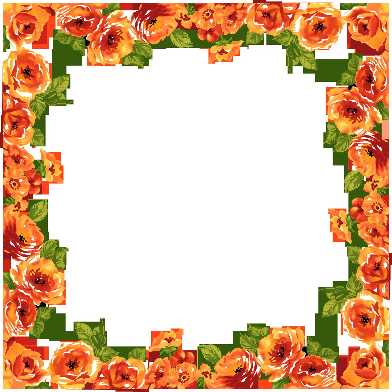 Download Free Transparent Png Image Flower Border