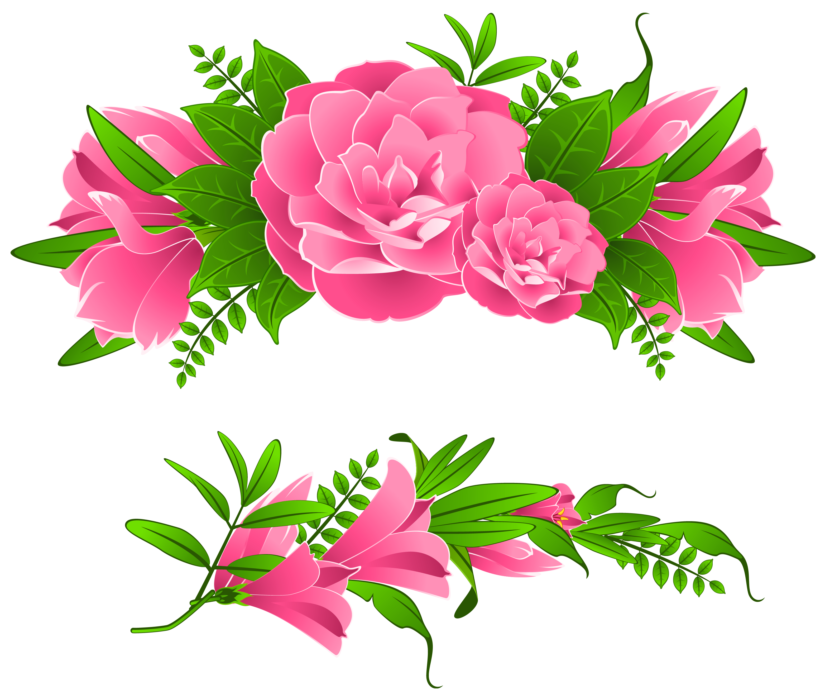 Flowers Borders Png Transparent Pictures