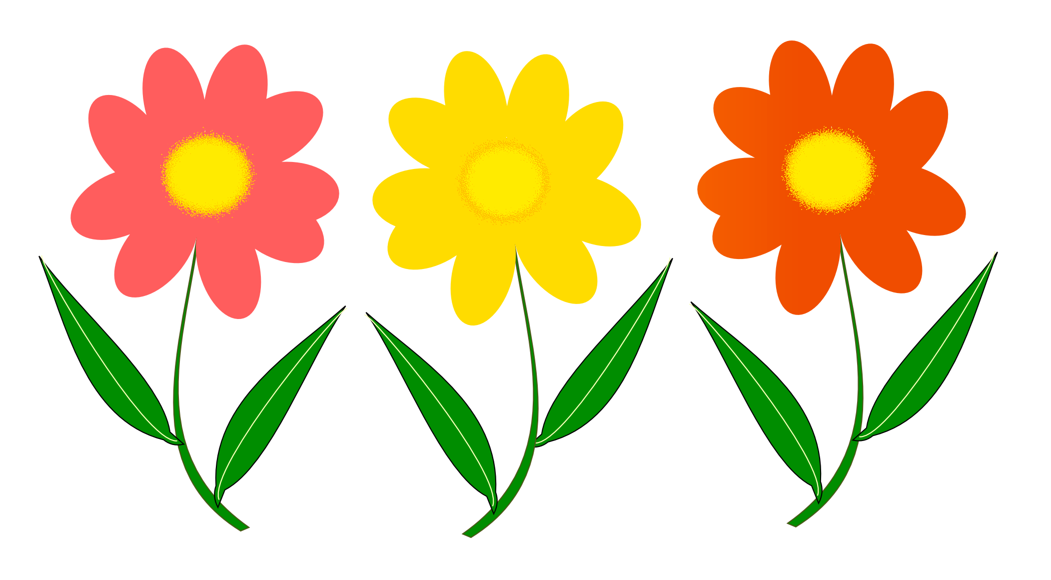 Flowers Vector Png Transparent Image 4746