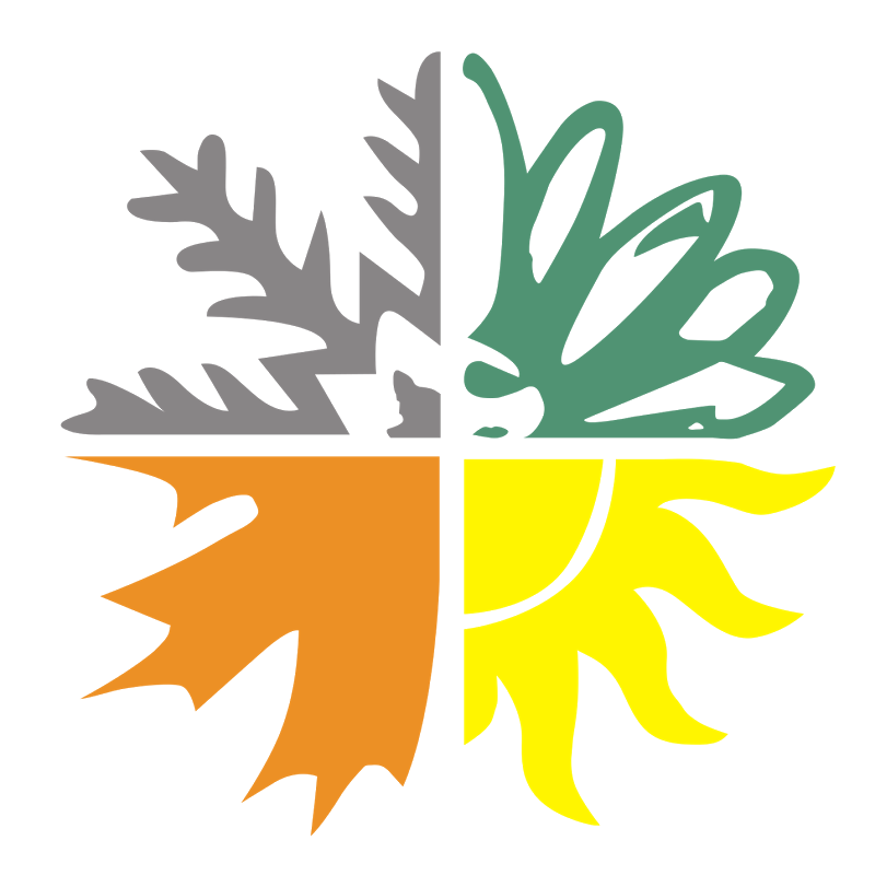 Leaf Four Seasons Logo Png Clipart 3009