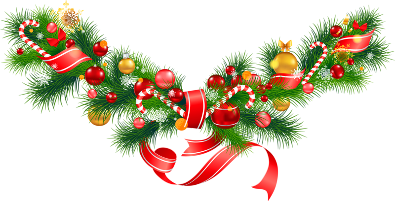 christmas decorations clipart merry christmas garland images