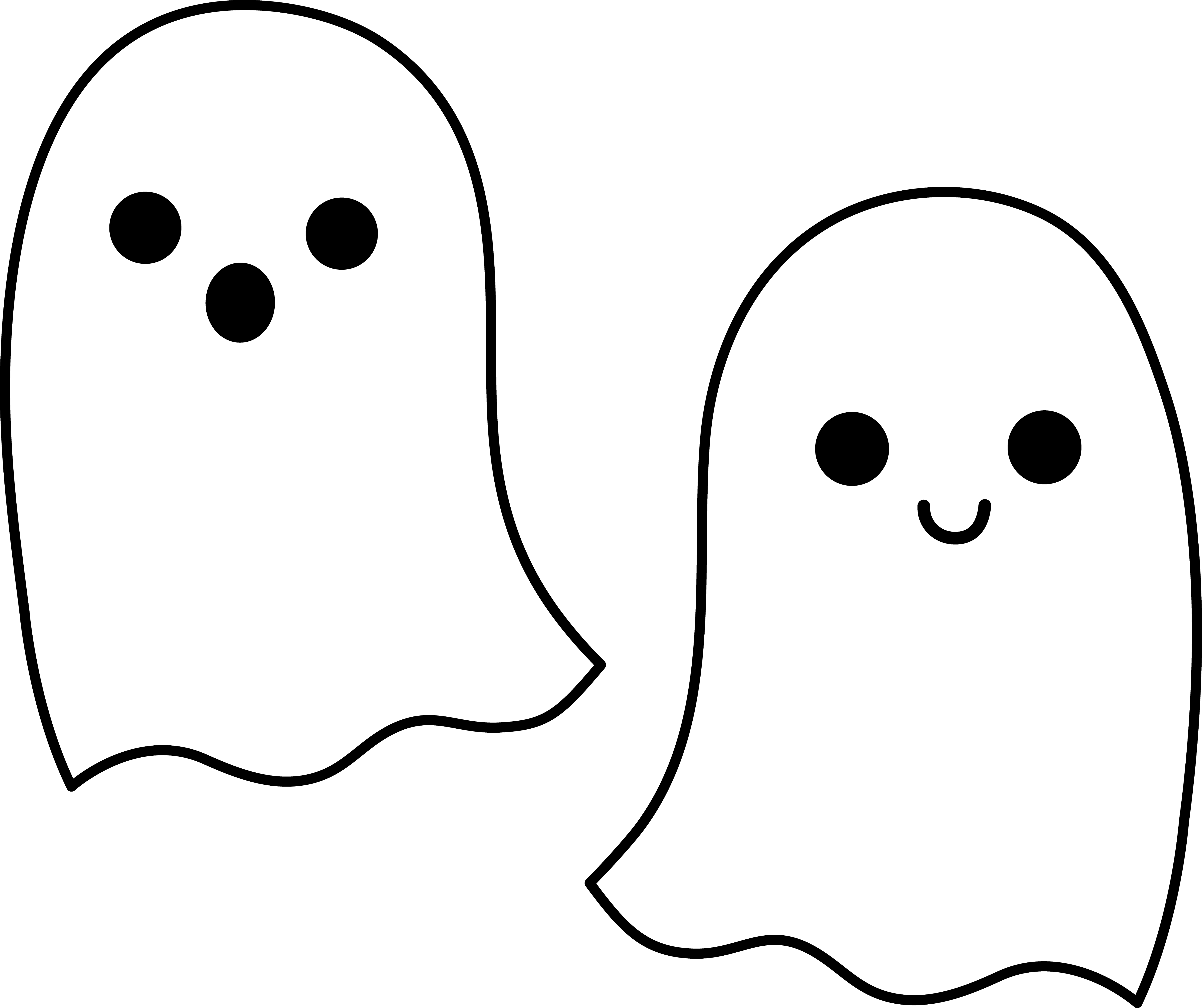 Ghost Cut Out Png PNG Images