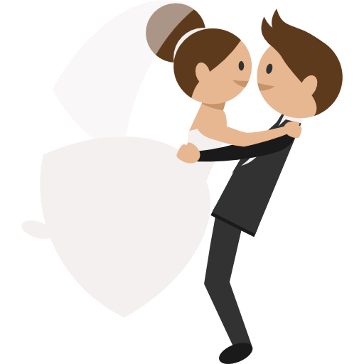 Groom, Romantic, People, Wedding Couple, Bride Icon Png 2471
