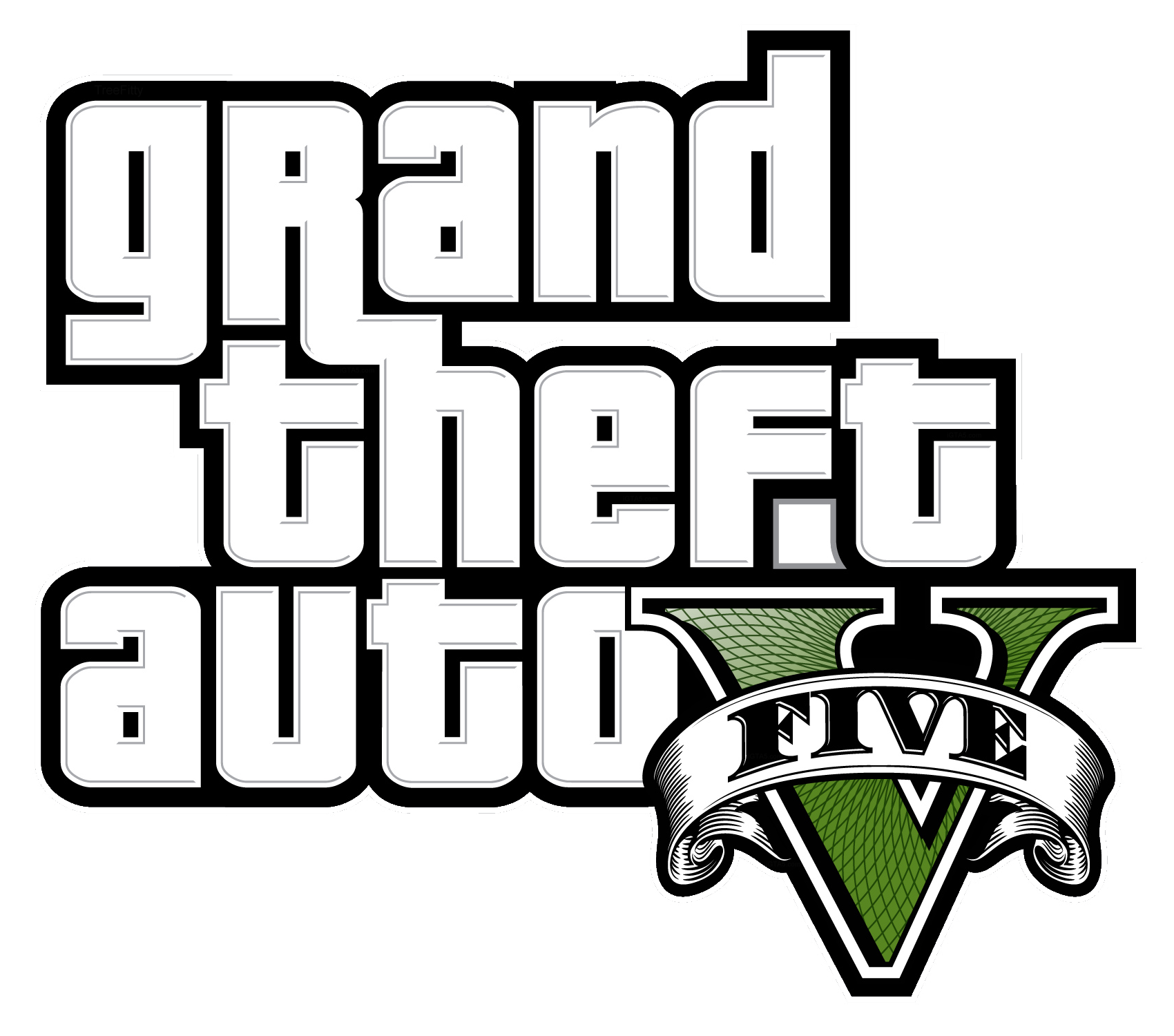 Grand Theft Auto, Gta Logo Clipart PNG File 20287