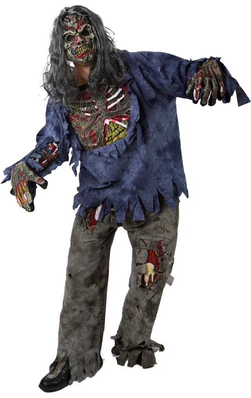 Complete Zombie Halloween Costume Png  sc 1 st  Transparent PNG & Complete Zombie Halloween Costume Png - 489 - TransparentPNG