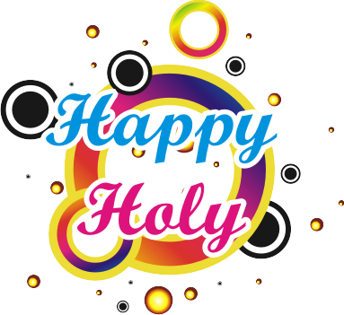 Happy Holi Text Png Transparent Images 2350